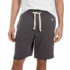 CHAMPION Charcoal Gray FRENCH TERRY SHORT Athletic Sweat Fleece Shorts MEN M NEW