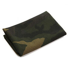 Tactical Woodland Camo Net Sniper Cover Scarf Veil Face Mesh Turban Headscarf