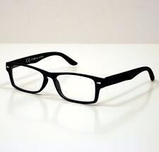 OCCHIALI GRADUATI DA LETTURA PRESBIOPIA VINTAGE BLACK +3,5 READING GLASSES