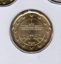 Allemagne 2008 20 centimes F Stuttgart FDC provenant coffret 55600 exemplaires
