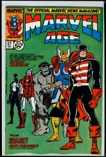 Marvel Comics MARVEL AGE #57 Captain America VFN 8.0