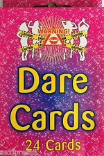 HEN PARTY DARE CARDS  24 Dares To Make Your Party Go With A Bang! Rapid Despatch