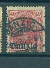 FREE CITY OF DANZIG - GERMANY 1920/1921 40 Pf