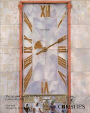 CHRISTIE'S Egyptian Temple Gate Clock Art Deco Cartier Auction Catalog 1991