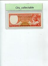 WORLD BANK NOTE - 1963 SURINAME 10G LK090810 UNC # B254