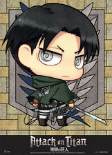 Attack on Titan SD Levi Fabric Poster (Wall Art) GE79083 *NEW*