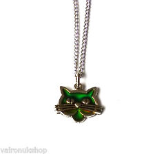 Cat With Wiskers Mood Colour Changing Necklace in Gift Box