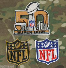 2014 SEASON SUPERBOWL NFL CHAMPIONSHIP BAY AREA SUPER BOWL 50 PATCH item #1 + #3