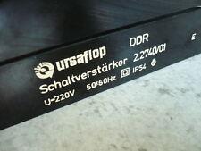 Ursaflop Schaltverstärker Netzgerät 2.2740/01 VEB Arbeitsbühne FHB 12.1 DDR Lift