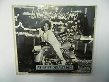 Whitney Houston ‎– Interview Compact Disc CD Promo Arista ‎– WH001 MADE IN UK