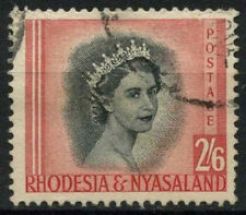 Rhodesia & Nyasaland 1954-6 SG#12, 2s6d QEII Definitive Used #D19653