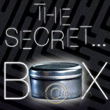 The Secret Box Trick Magician Perform Learn Tricks Magicians Magic Tin Coin