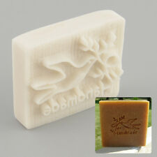 Pigeon Desing Handmade Yellow Resin Soap Stamp Stamping Mold Craft New