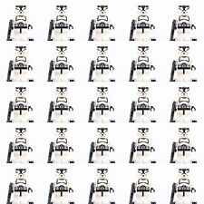 25pcs Star wars Clone Trooper Mini figures  Building Toys Super Hero Fits Lego