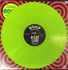BLACK LIPS - ST -APPLE GREEN VINYL ltd ed of 100 -LP