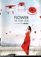 Publicité advertising 2013 Parfum Flower In The Air par Kenzo