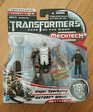 Transformers DOTM Whirl with Major Sparkplug