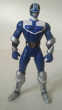 FIGURINE POWER RANGERS TIME FORCE - BLUE VECTOR CYCLE RANGER BLEU - BANDAI 2000