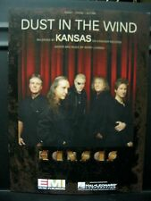 NEW & In Stock - Kansas - DUST IN THE WIND - PVG Sheet Music
