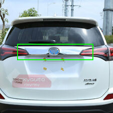 New ABS Chrome Rear Door Trunk Moulding Trim For Toyota RAV4 2016