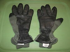 GENUINE US MILITARY COLD WEATHER FLYERS GLOVES HAU-15/P SIZE MEDIUM 9 13-N