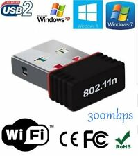 Mini Wireless Wi-Fi Nano USB WiFi Adapter Dongle 2.4GHz 300mbps 802.11N+Vat Bill