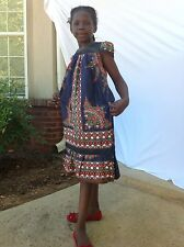 African dress for children 5 to 7 years old