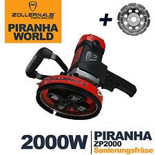 Zollernalb Piranha ZP2000 Betonfräse Sanierungsfräse Fräse Betonschleifer  2000W