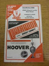 08/04/1980 Liverpool v Derby County  (Creased, Nicks)