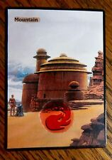 MTG Altered art Star Wars Jabba's Palace Mountain