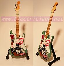 Mini Guitar Billie Joe Armstrong green day stratocaster fender chitarra GITARREN