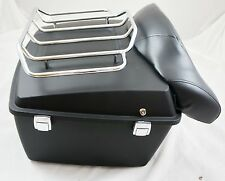 Matte black tour pak pack trunk fit Harley Davidson 1997-2008 touring models