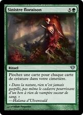 MTG Magic DKA - (x4) Grim Flowering/Sinistre floraison, French/VF
