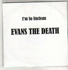 (CO286) Evans The Death, I'm So Unclean - 2011 DJ CD