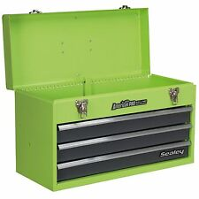 Sealey AP9243BBHV 3 Drawer Portable Green Tool Chest With Ball Bearing Runners