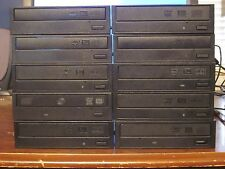 LOT 10 MIXED BRAND DESKTOP SATA DVD RW BURNER DRIVES