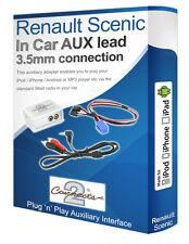 Renault Scenic AUX iPod iPhone MP3 player Renault iPod iPhone adapter interface