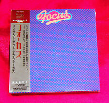 FOCUS In And Out Of Focus JAPAN SHM MINI LP CD OUT OF PRINT RARE VICP-70049