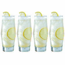 Set of 4 35cl Hi-Ball Tumblers Bar Drinks Party Tall Drinking Glasses Cocktail
