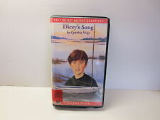 Dicey's Song by Cynthia Voigt unabridged audio cassettes read by Barbara Caruso