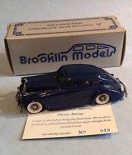BROOKLIN MODELS BRK. 1x - 1933 PIERCE ARROW 1992 BCC Collectors Club Model 1/500