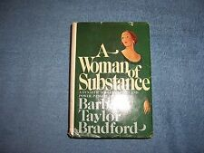 A WOMAN OF SUBSTANCE by Barbara Taylor Bradford/1st Ed/HCDJ/Fiction/Romance
