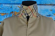Burberry Men's Full Zip Jacket Size 50 England 40 US Vintage Cool Casual Outdoor
