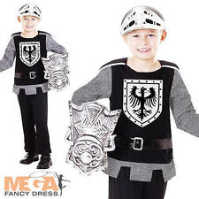 Medieval Knight Boys Fancy Dress Renaissance Book Week Kids Childrens Costume