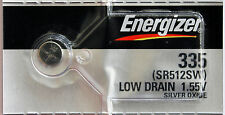 1PC Energizer 335 Silver Oxide Watch Battery