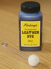 FIEBINGS INSTITUTIONAL LEATHER DYE (WATER BASED) 4 FL OZ - BLUE