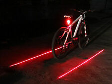 Rechargeable Super Bright 8-LED Bike Tail Light Bicycle Taillight Laser Flashing