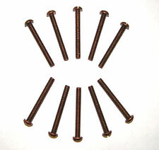 "Tattoo Machine 10 11/2"" #8 Bronze Screws, Contact Screw"