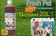 1L SUPER CONCENTRATE FRESH PET KENNEL / CATTERY CLEANER / SANITISER - STRAWBERRY