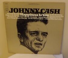"JOHNNY CASH ""HAPPINESS IS YOU"" 1966 COLUMBIA 2 EYE 360 STEREO CS 9337 LP"